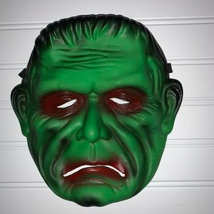 Frankenstein rubber Halloween mask